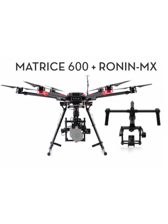 Гексакоптер DJI Matrice 600 и DJI Ronin MX Комплект